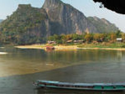 4 days Laos tours including flight from Vientiane to Luang Prabang