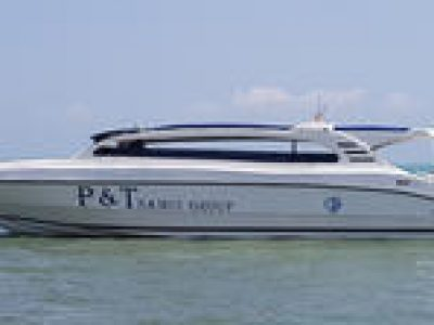 Airport Arrival Transfer from Surat Thani Airport to Koh Samui Hotel by Speedboat and Minivan