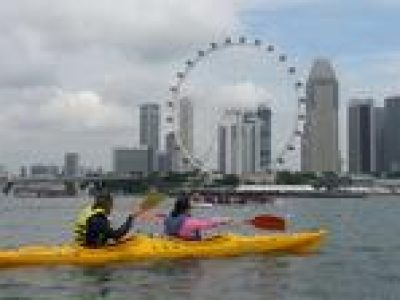Kayak Tour to Singapore Flyer