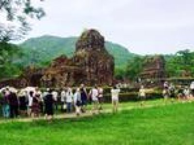 My Son Holyland Tour Including Boat Trip from Hoi An