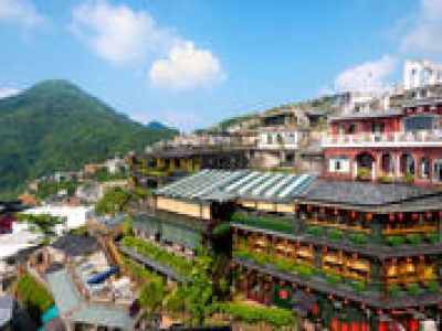 Taipei Shore Excursion: Jiufen Gold Rush Town and Yehliu National Geopark Day Trip